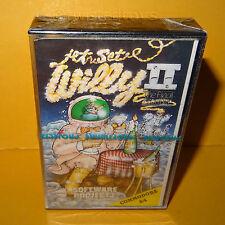 Vintage commodore 64 Jet Set Willy II 2 The Final Frontier cassette jeu Scellé