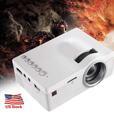 1080P HD LED 5000 Lumens Home Theater Cinema USB TV VGA SD HDMI Mini Projector