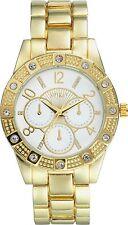 Spirit Ladies' Gold Stone Set Watch. ASPL56