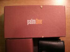 PalmOne Treo 650 Leather Case - Black - Brand New !