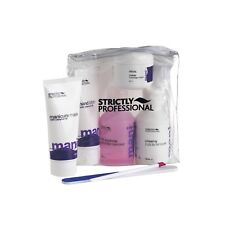 Strictly Professional Manicure Care Kit | Polish Remover, Buffer Cream, File