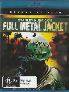 Stanley Kubricks,Full Metal Jacket  (2008 Blu-ray)  Deluxe Edition. As New