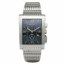 GUCCI YA086318 Men's G-Metro Blue Quartz Watch