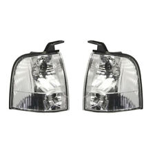 DEPO FRONT LEFT AND RIGHT TRANSPARENT INDICATOR LAMP FORD RANGER 2002-2006