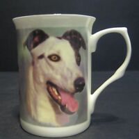 Greyhound Dog Fine Bone China Mug Cup Beaker