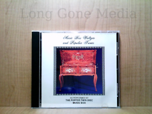Music Box Waltzes And Popular Tunes by The Porter Twin Disc Music Box (CD, 1984)