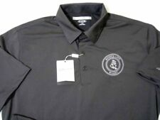 Greg Norman ® Buckeye Lake Winery ® Play Dry Black L Large Polo Shirt New NWT