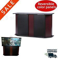 Aquarium Stand Storage Cabinet Large Fish Tank Base Habitat Table Furniture Unit