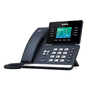 Yealink SIP-T52S 12 Line VoIP IP Media Phone Color LCD BT USB Dual Gigabit PoE