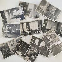Antique RPPC Real Photograph Postcard House Interior Decor 32 Pond Ludlow, VT