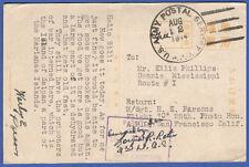 T649  -  1944 SAIPAN Mariana Islands, JAPAN  Military post card, US APO Censored