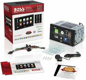 BOSS Audio Car Multimedia Player Apple Carplay Android Auto Stereo Touchscreen