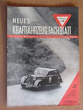 Voiture MAGAZINE v. 1950 nouveau automobile leader Test NSU FOX ADAC Publicité
