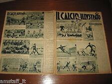 IL CALCIO ILLUSTRATO 1947/40=JUVENTUS GENOA 3-2=FOTO SQUADRE NOVARA BOLOGNA