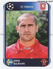 N°071 EMIR BAJRAMI # SWEDEN FC.TWENTE UEFA CHAMPIONS LEAGUE 2011 STICKER PANINI