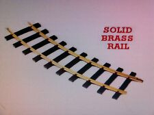 USA Trains 81700 G Scale 10 Ft Diameter Track Solid Brass Rail (One Case 12 pc)