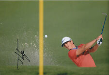 Thorbjorn OLESEN SIGNED Autograph 12x8 Photo AFTAL COA GOLF WINNER In Person