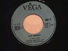 LUC HARVET African Melody / Devine un peu pourquoi 5198