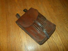 WW2 German / Luftwaffe M35 Leather Dispatch Map Case #4 - VERY NICE!