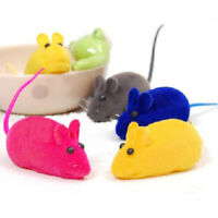 5PCS MOUSE SQUEAK SOUND FUNNY RAT PLAYING TOY FOR CAT KITTEN PET PLAY TOY SUPREM