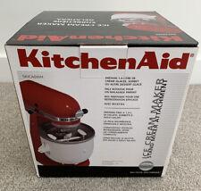 KitchenAid Ice Cream Maker 5KICA0WH New Unopened