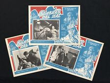 Touch Of Evil Orson Welles Charlton Heston Janet Leigh (3) Lobby Cards 1958 Noir