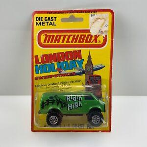 Matchbox~1981 Lesney No.44 Green Chevy 4x4 Van~London Holiday~On Card~Vintage!!!