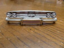 1/25 ORIGINAL AMT 1960 CHEVROLET IMPALA CONVERTIBLE FRONT BUMPER KIT #77760