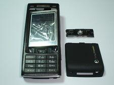 new sony ericsson k790 cover housing keypad set BLACK