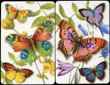PUNCH STUDIO BUTTERFLY SWAP CARDS X2 VERY BEAUTIFUL (BRAND NEW)
