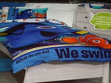 FINDING DORY choose design, choose size SINGLE or DOUBLE QUILT COVER SET NEMO BN
