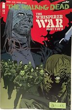 IMAGE COMICS THE WALKING DEAD #159 SIGNED BY CHARLIE ADLARD with COA