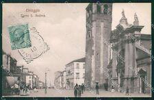 Venezia Chioggia Torre Sant'Andrea cartolina QT4042