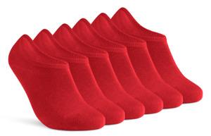 6 | 12 Paar Sneaker Socken Damen Herren Füßlinge unsichtbar Baumwolle Silikonpad