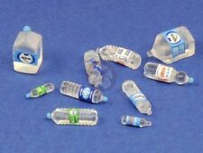 Royal Model 1/35 Disposable PET Clear Water Bottles Normal & Squished (10pc) 746
