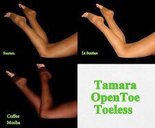 Tamara Open Toe Pantyhose socks Hooters Uniform lingerie costume Halloween sexy