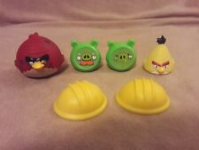 ANGRY BIRDS ON THIN ICE game replacement pieces parts PIGS ANGRY BIRDS HELMETS