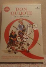 Pack 5 Dvd.Serie Completa 39 episodios.Don Quijote de la mancha(1979)
