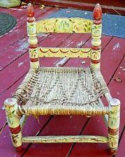 Antique Handpainted Primitive CHILDS Chair