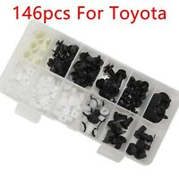 146 Pcs Fender Door Hood Bumper Trim Clip Body Retainer Assortment For Toyota