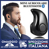 AURICOLARE BLUETOOTH CUFFIA WIRELESS MICROFONO UNIVERSALE iphone android 🇮🇹