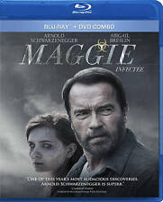 Maggie (Blu-ray/DVD Combo Canadian MINT !!) Arnold Schwarzenegger, FREE SHIPPING