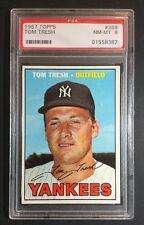 Topps 1967 PSA 8 Tom Tresh #289