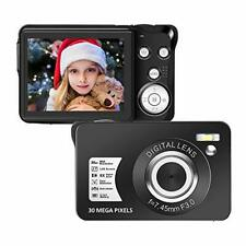 Digital Camera,30MP Compact Camera,2.7 inch Pocket Camera,Rechargeable DC5DB