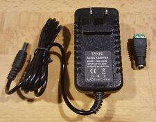 AC 100 240V To 12V 2A Power Supply Converter + Adapter Led Lights Strips 5050 US