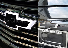 84309188 Black Illuminated Grille Bowtie 2015-2018 Chevrolet Suburban & Tahoe GM