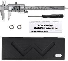 Digital Vernier calibrador micrómetro herramienta Calibre 150mm Pantalla LCD electrónico