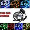 5M 300led Impermeabile 3528 RGB/White SMD Strip Light & Adattatore & Controller