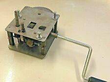 Gramophone Phonograph Motor working Mechanism Replica Double spring Brake Handle