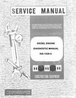 International TD-7 E TD-8 C 260A 260-A 2500A 2500B 2500 A  Engine Service Manual